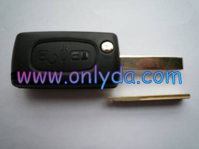Cit-roen-R05B for Citroen 2 button remote key with HU83 key blade C2 C3 C4 C5 remote