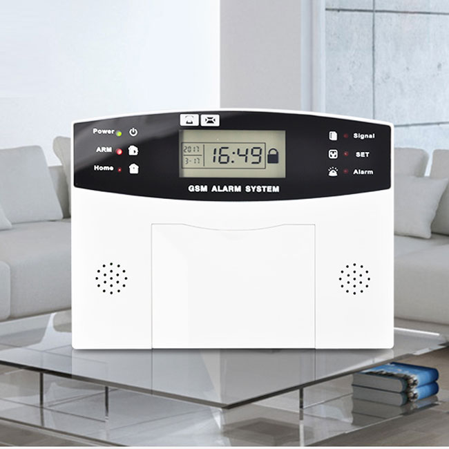 220 V 12 V Sans Fil D Appel Mobile Gsm Syst 232 Me D Alarme De