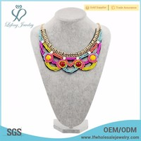 Unique beautiful diy handmade female necklace jewelry