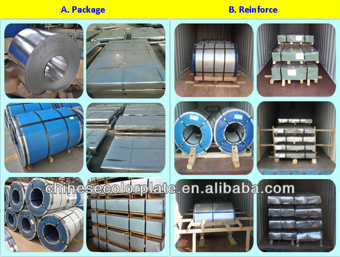 Galvanized steel coil z275