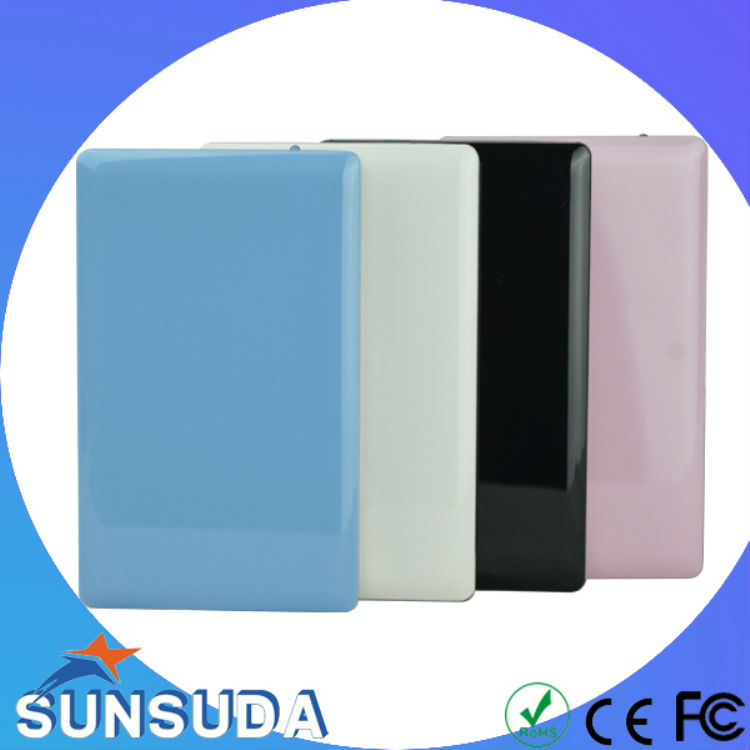 Stainless Steel portable hard drive 2.5inch disque dur externo case