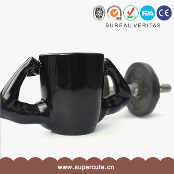 Unique Shaped Coffee Mugs unique muscle shape ceramic fit for all ages insulated coffee mugs
