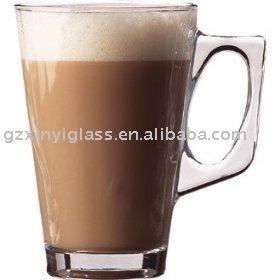 transparent coffee milk tea glass mug buy glass mug transparent milk tea mug promotional. Black Bedroom Furniture Sets. Home Design Ideas