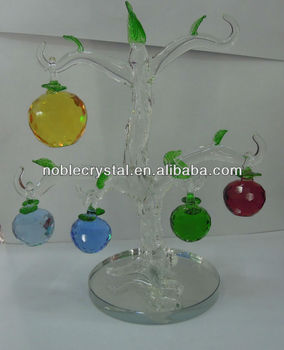 Crystal Fruit For Home Decorations Ornaments