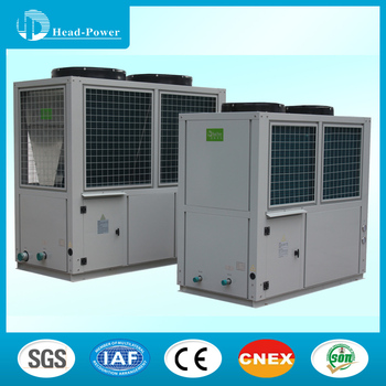 Air Source Heat Pump (ashp) Central Heating And Cooling System 35kw ...