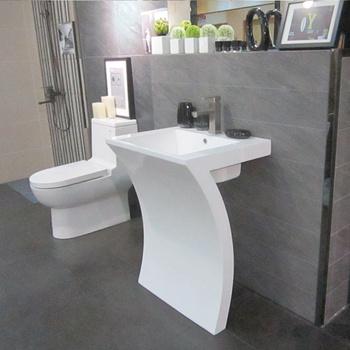 Hand Washbasin Half Pedestal Basin