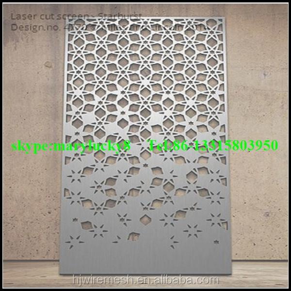 Amato Rivestimento della parete di taglio laser ss foglio/alluminio  MY16