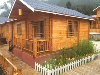 Small Wood Log Cabin For One Bedroom With Toilet Log Cabin Homes Kits / Log  Cabin