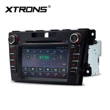 XTRONS 2 din android car dvd player per <span class=keywords><strong>mazda</strong></span> cx-7 con bluetooth/dab/fm/am, centrale multimedia