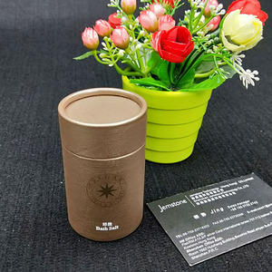 2018 Best promotion round kraft cardboard cylinder packaging box, coffee box food grade card tubes with factory price