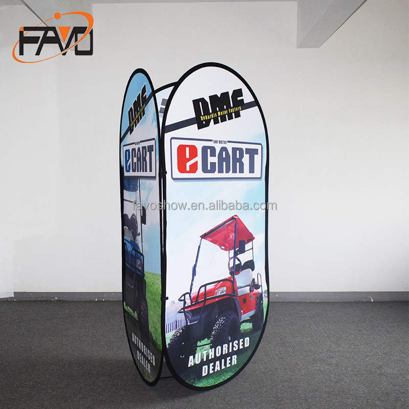 Pop Up Outdoor Event A Frame Banner Sign Stand