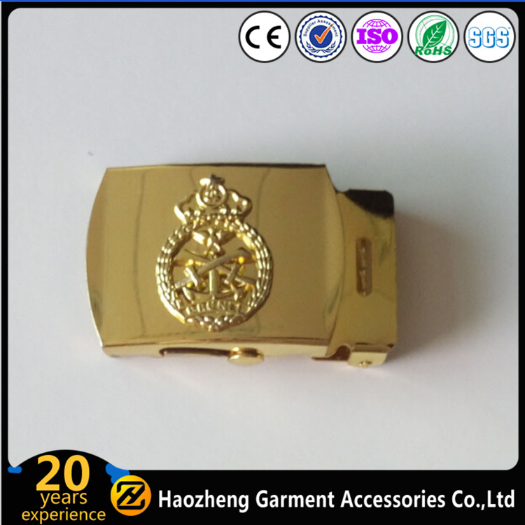 Belt Accessories Army Metal Belt Buckles For Men