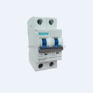 NSPV 2015 New MCB Mini Circuit Breaker With double busbar And light indicating