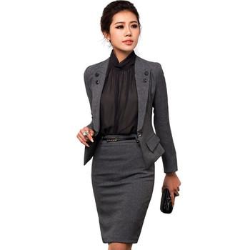 Custom Women Office Uniform Design Style Buy Office Uniform