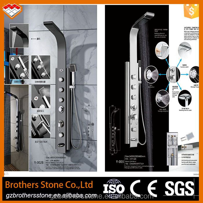 thermostatic bath shower mixer prices conceal shower set/bathroom shower