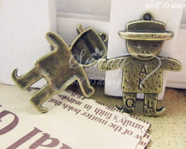 Chinese snowman child shape pendants