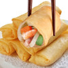 Chinese traditional food frozen vegetable spring rolls