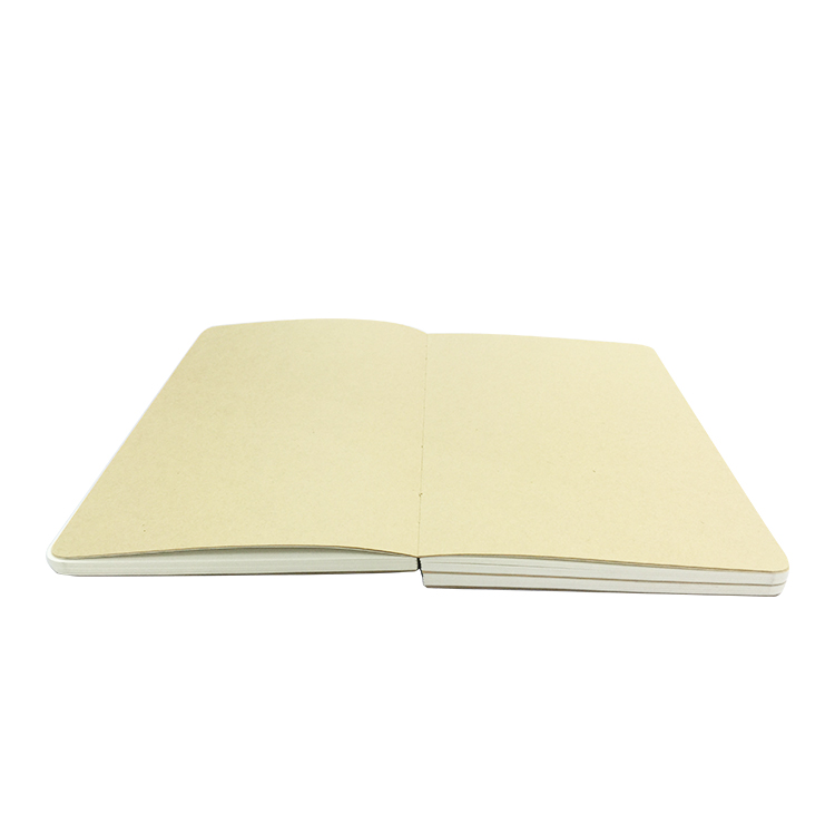 China manufacturer custom printed promotional perfect binding notebook
