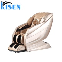 Kisen 3d and 4d zero gravity massage chair A10 top quality