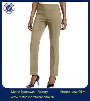 Office Uniform Designs For Women Pants And Blouse - Buy ...