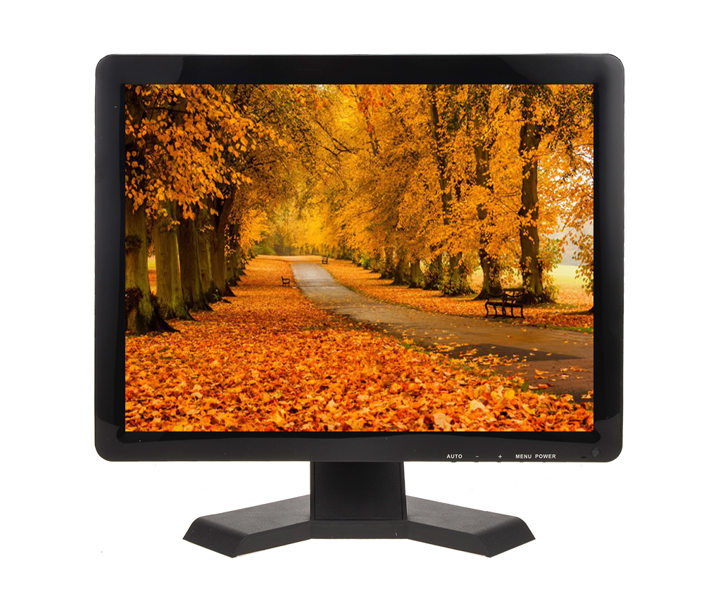 17 Computer Monitor LED Display HD AV VGA Input 17Inch TV Monitor