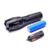 Portable 5 Modes 300LM High Power Flash 3AAA 18650 Rechargeable Battery Zoom Aluminium 10W T6 LED Tactical Torch Flashlight