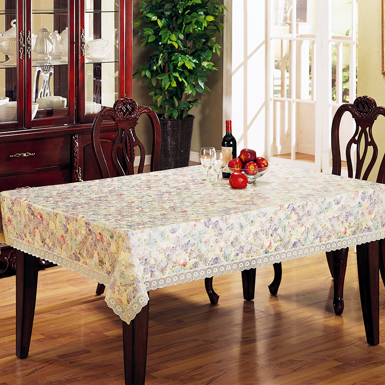 Lace Embossed Vinyl Lace Tablecloth, Lace Embossed Vinyl Lace Tablecloth  Suppliers And Manufacturers At Alibaba.com