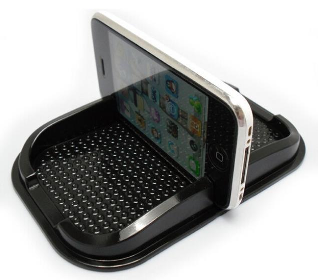 Универсальный нескольких - функциональные антипробуксовочная площадку резина мобильного важно придерживаться приборной панели телефона полка антискользящий коврик для GPS mp3-держатель