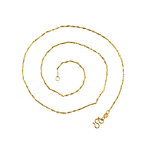 xuping The latest fashion of the most popular 24k gold new model of women long necklace chain