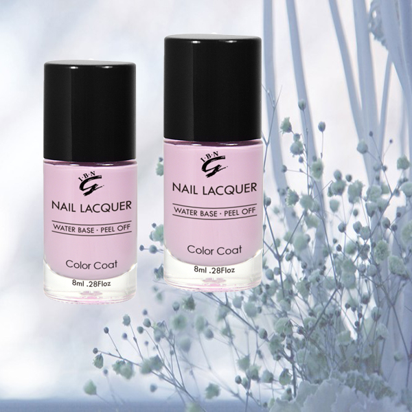 new type environmental water based scent peel off nail polish/varnish/paint