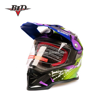 Dirt Bike Helmet With Visor >> Motocross Helmets Full Face Dirt Bike Protection Hat Dual Sport