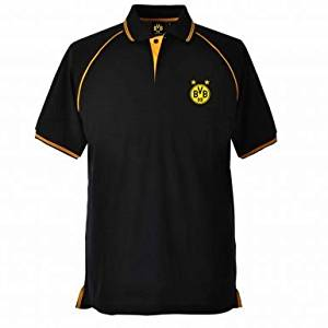 dbe396223735 Get Quotations · Borussia Dortmund Crest Polo Shirt