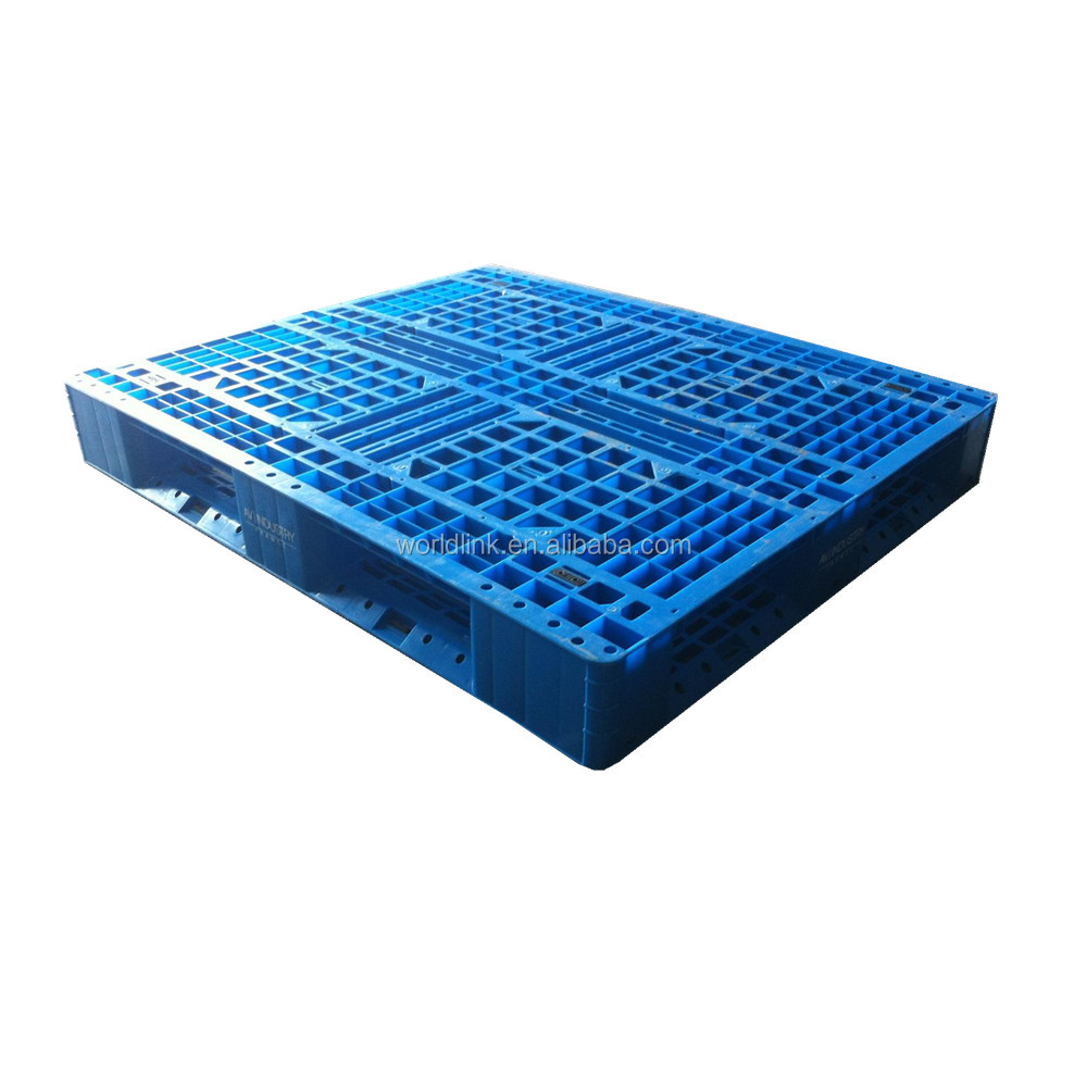 Reusable Heavy Load 4 Entry 2 Sides Transport Skids Pallet