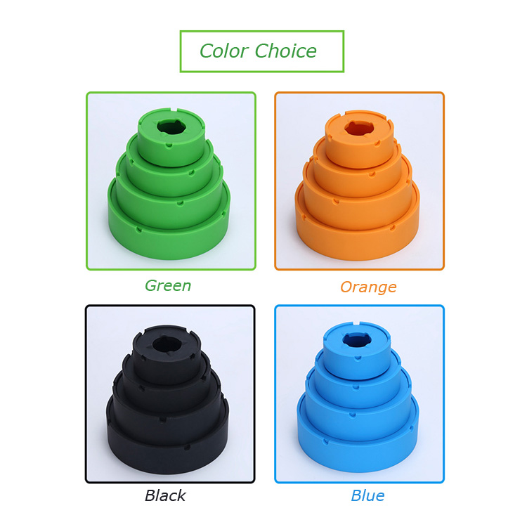 New invention round silicone custom ash tray novelty ashtrays with lids