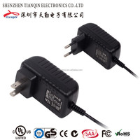 ccc approved 12v 1500ma power adapter with UL/CUL GS CE SAA FCC approved (2 years warranty)