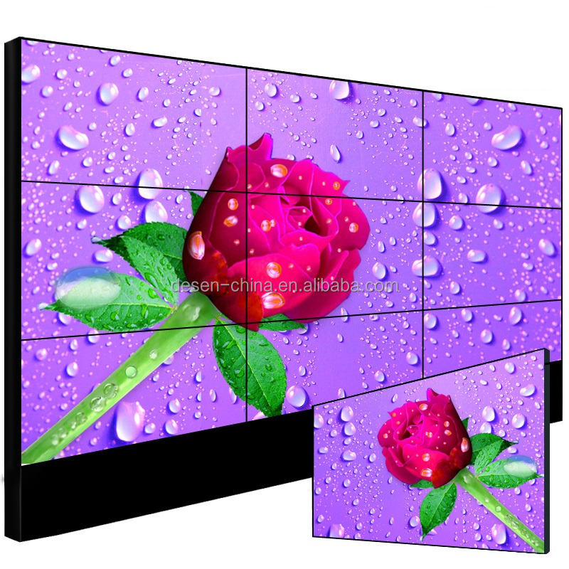 Multi TV Wall video tv screen display 3x3 lcd video wall factory price