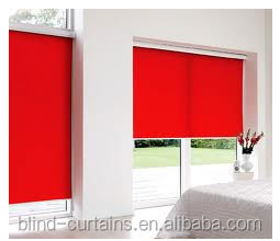 solid color fabric roller blind / fashion design fabric roller blind / window curtain