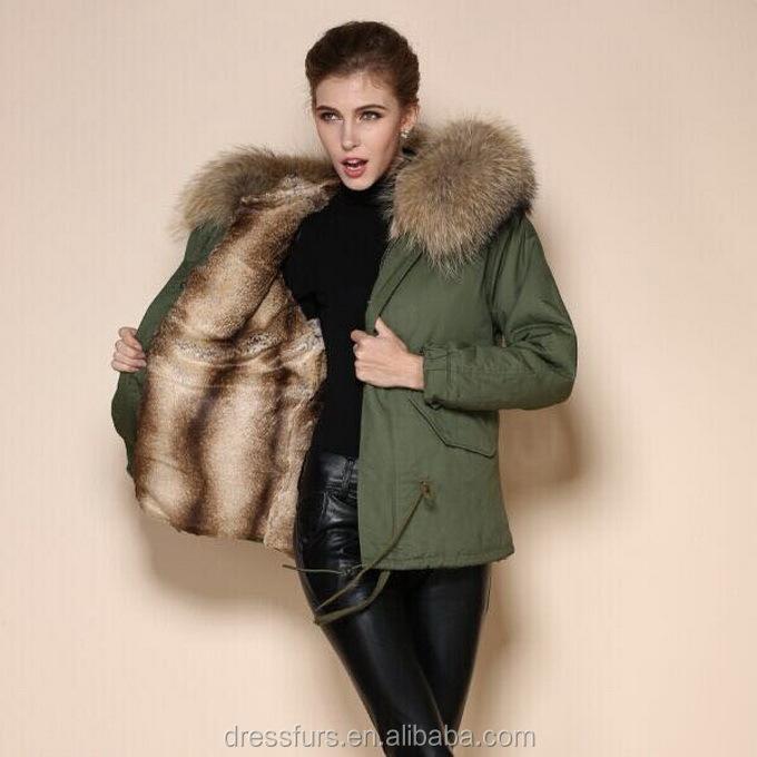 Chine fournisseur en gros marine, parka avec fourrure d'agneaufemmes. fourrure.veste d'hiver