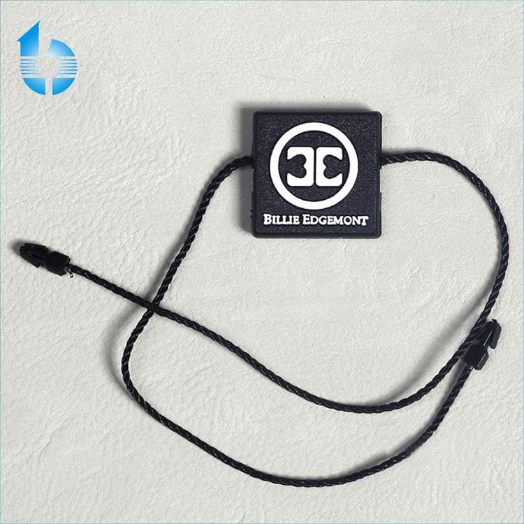 1000pcs x 3//5 7 inch Loop tag Lock Pin legami tagging elementi di fissaggio-LT3 Nero Perline