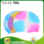 Silicone rainbow swimming cap,Wholesale silicone swim hat,waterproof swim caps