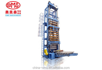 vertical expanding machine for heat-exchanger(quick die changeover type )