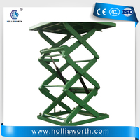 Stationary Scissor Lift for Warehouse Professional Cargo Lifting