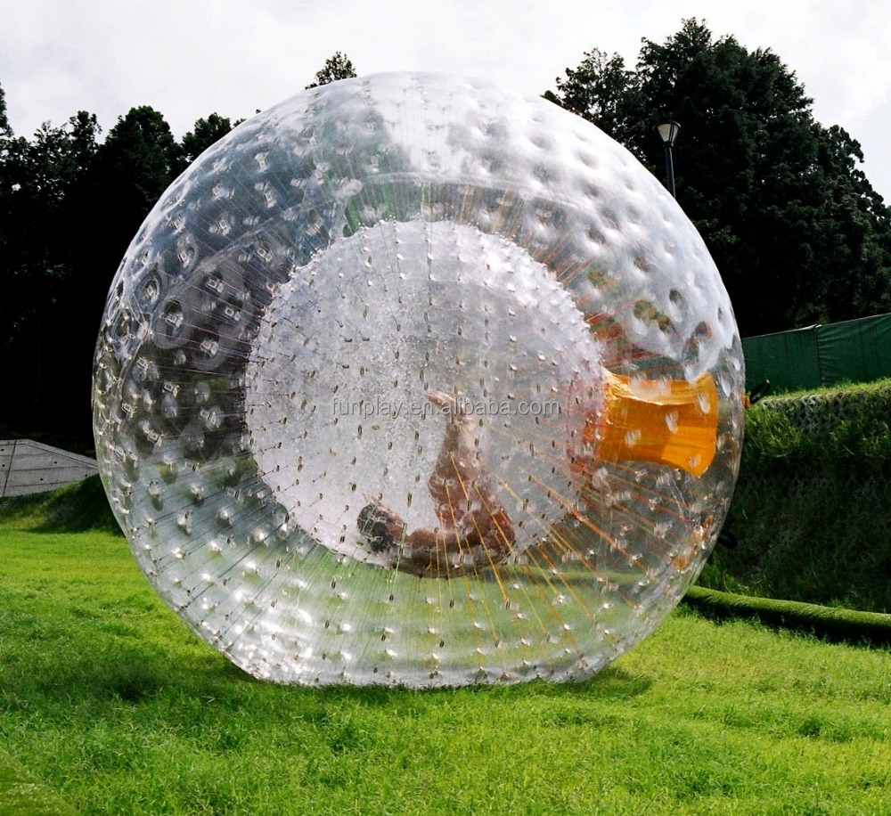 2016 Hot sell TPU/PVC dia 3m zorb ball, giant hamster ball