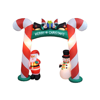 High Quality Christmas Party Outdoor Decoration Christmas Inflatable Arch