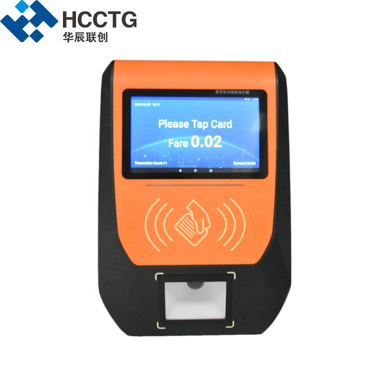 Smart wireless School Bus Ticket Pos System For Automatic Fare Collection P21A