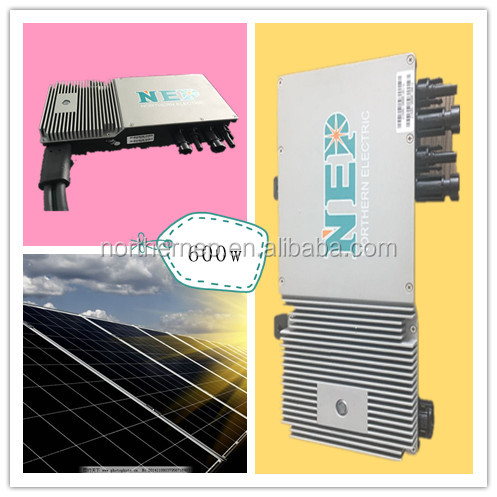 500w 600w micro inverter solar power system home