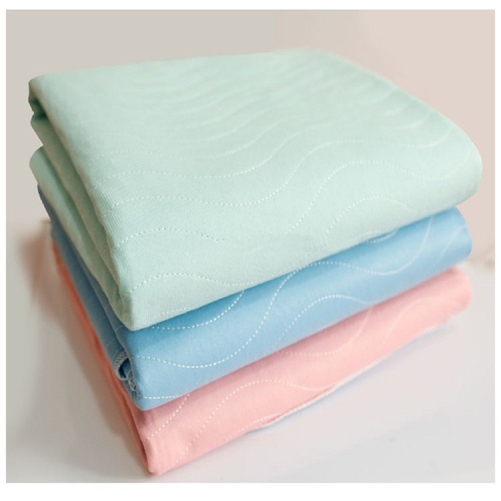 Wholesale Washable Thick Cotton Polyester Waterproof Incontinence Bed Pad