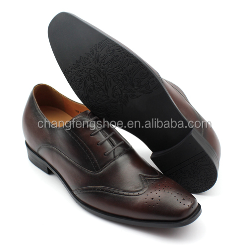 Top brand men leather style shoes brown new fSZqrcawf