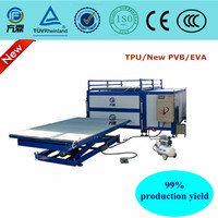 bulletproof glass safety glass making machine, tempered glass bending laminating machine