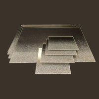 clear placemats new silver shimmer mirrored glass and coaster set contemporary clear placemats for sale